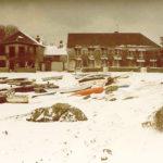 Chausey sous la neige